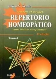 Repertório Homeopático - Tomo I - 4ª Ed. 2004 Autor: William O Boericke, - 857363133